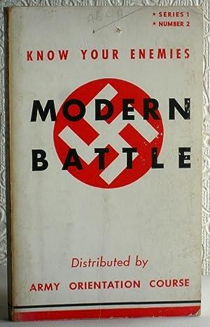 Modern Battle - Know Your Foes: Paul W Thompson