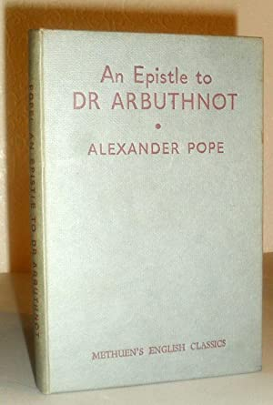 An Epistle to Dr Arbuthnot
