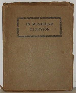 In Memoriam A H H: Alfred Lord Tennyson