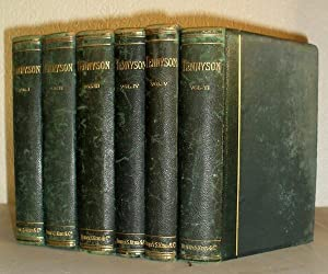 The Poetical Works of Alfred Tennyson - 6 Volumes: