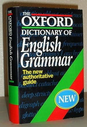 The Oxford Dictionary of English Grammar -: Sylvia Chalker, Edmund