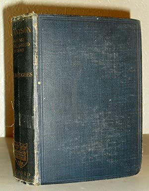 Tennyson - Poems Published in 1842