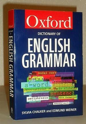The Oxford Dictionary of English Grammar: Sylvia Chalker, Edmund
