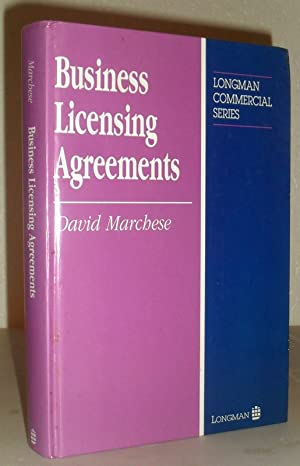Business Licensing Agreements (Longman Commercial Series)