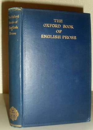 The Oxford Book of English Prose