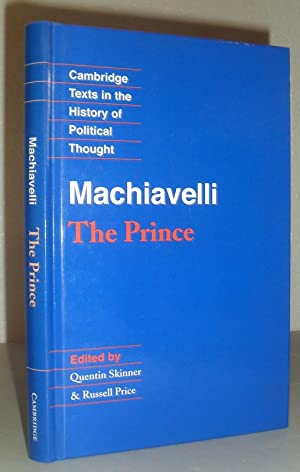 Machiavelli - The Prince (Cambridge Texts in The History of Political Thought)