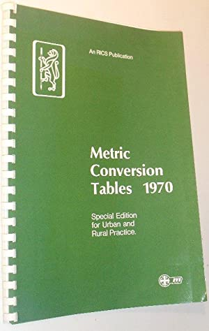 Metric Conversion Tables 1970 - Special Edition: The Royal Institution