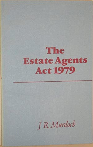 The Estate Agents Act 1979