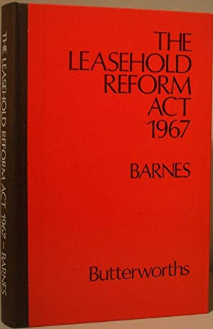 The Leasehold Reform Act 1967