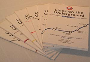Lines on the Underground: An Anthology for London Travellers - 7 Volumes