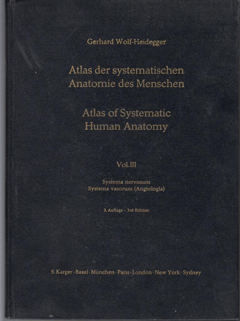 Atlas der systematischen Anatomie des Menschen / Atlas of Systematic ...