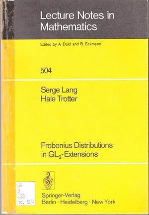 Frobenius distributions in GL-extensions: Distribution of Frobenius: Serge Lang