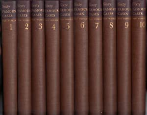 Sixty Famous Cases (Complete Ten (10) Volume Set): Van Winkle, Marshall
