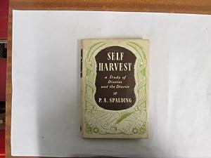 Self-harvest: Spalding, Philip Anthony