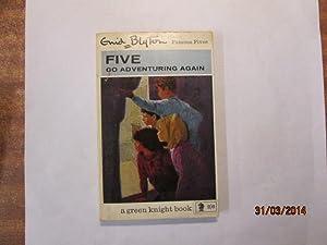 Five go adventuring again (Knight books, green: Blyton, Enid