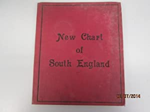 New Chart of South England (Transport Map of South England and Part of Wales: Bacon