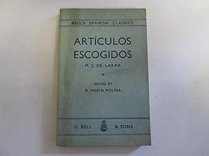 ArtÃculos escogidos (Bell's Spanish classics): D. MarÃn Molina, Marian Josà de Larra