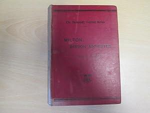 Samson Agonistes. Edited by A. J. Wyatt: Alfred John Wyatt,