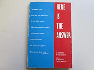HERE IS THE ANSWER: Robinson, Godfrey; Winward, Stephen