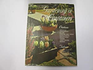Gardening in containers,by the editorial staffs of 'Sunset Books' and 'Magazine'