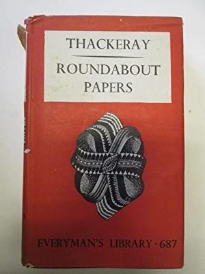Roundabout Papers: Thackeray, William Makepeace
