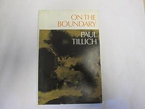 On the Boundary: Tillich, Paul