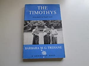 The Timothys. Schoolgirls In South India: Barbara Maud Gasking Trehane