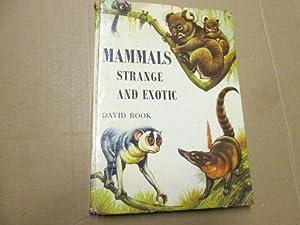 Mammals: Strange and exotic: Rook, David