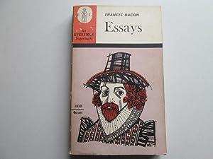 Francis Bacon Essays (Everyman Library): Introduced By Oliphant