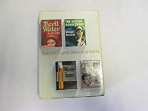 Reader's Digest Condensed Books-Devil Water;The Golden Rendezvous;Microbe: E R Braithwaite,