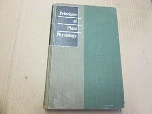 Principles of plant physiology: Bonner, James
