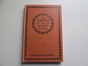 The Writers of Rome: J. Wright Duff