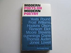 Modern Poets on Modern Poetry