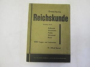 Erweiterte Reichskunde: 1000 Fragen und Antworten aus: Spraul, Alfred
