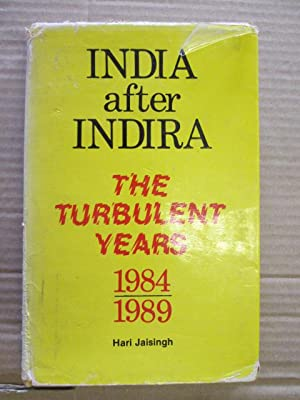 India after Indira: The turbulent years, 1984-1989: Jaisingh, Hari