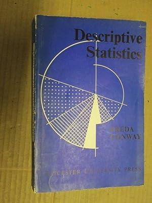 Descriptive statistics: Conway, Freda