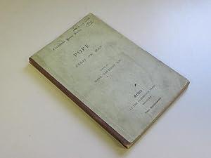 Essay on Man (Clarendon Press Series): Alexander Pope; Mark Pattison (editor)