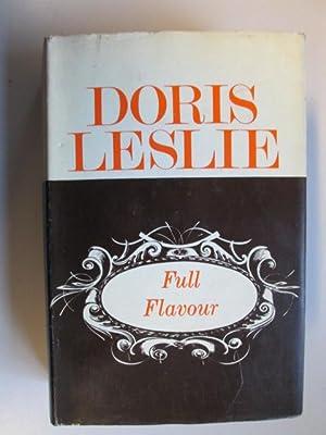 Full flavour: Doris Leslie