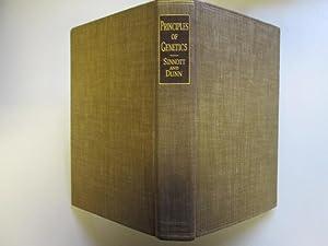 PRINCIPLES OF GENETICS: A TEXTBOOK WITH PROBLEMS.: Sinnott, Edmund W.