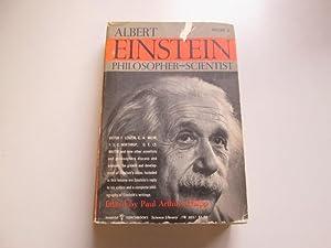 ALBERT EINSTEIN: PHILOSOPHER-SCIENTIST, VOLUME 2: Paul Arthur (editor). Schilpp
