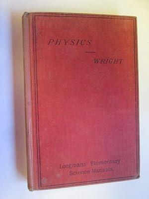 Elementary Physics: Wright, Mark R.