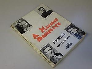 A Madman's Manifesto (Le Plaidoyer d'un Fou): August Strindberg; Anthony Swerling (...