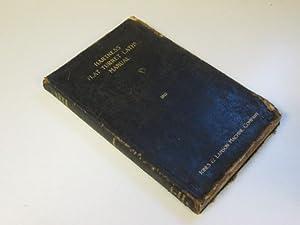 Hartness Flat Turret Lathe Manual: A Hand Book for Operators, 1915.