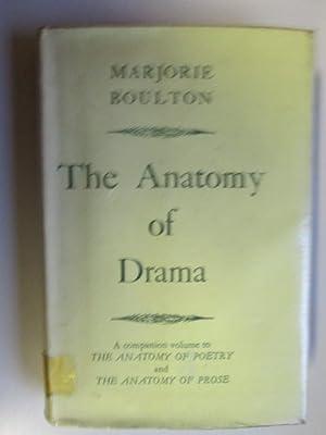 Boulton Marjorie Anatomy Drama Abebooks