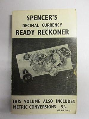 Decimal Currency Ready Reckoner: Saady, D.