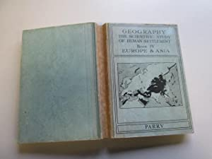 Geography: the scientific study of human settlement: Parry, Roy Edgardo