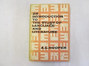 An Introduction to the Study of Language and Literature: Alfred Gifford Hooper
