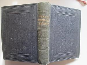 An English-Greek Lexicon Abridged from the Large Work: Charles Duke Yonge