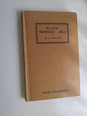 Plato: Republic Book I (1): Plato / Allan