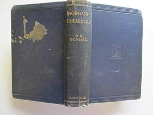 An Inorganic Chemistry: H. G Denham